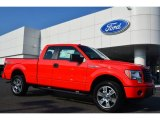 2014 Race Red Ford F150 STX SuperCab 4x4 #98092881