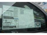 2015 Toyota Tundra SR5 CrewMax 4x4 Window Sticker