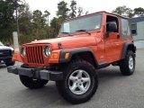 2006 Impact Orange Jeep Wrangler SE 4x4 #98093172