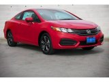 2015 Rallye Red Honda Civic EX Coupe #98128287