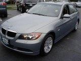 2007 Arctic Metallic BMW 3 Series 328xi Sedan #9320058