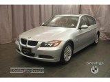 2007 Titanium Silver Metallic BMW 3 Series 328xi Sedan #9321786