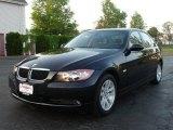 2007 Jet Black BMW 3 Series 328xi Sedan #9332613