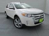 2014 White Platinum Ford Edge Limited #98150166