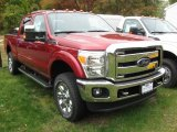 2015 Ruby Red Ford F250 Super Duty Lariat Crew Cab 4x4 #98150273