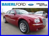 2008 Inferno Red Crystal Pearl Chrysler 300 C HEMI AWD #98149963