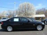 2009 Jet Black BMW 3 Series 328xi Sedan #9324393