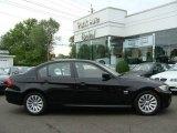 2009 Jet Black BMW 3 Series 328xi Sedan #9280880