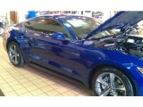 2015 Deep Impact Blue Metallic Ford Mustang V6 Coupe #98180843