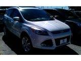 2015 White Platinum Metallic Tri-Coat Ford Escape Titanium #98180841