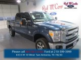 2015 Blue Jeans Ford F250 Super Duty Lariat Crew Cab 4x4 #98180829