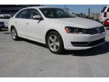 2014 Candy White Volkswagen Passat 2.5L SE #98181225
