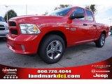 2014 Flame Red Ram 1500 Express Quad Cab #98218788