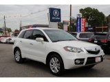 2010 White Diamond Pearl Acura RDX Technology #98218736