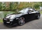 2008 Black Porsche 911 Turbo Cabriolet #98218734