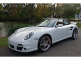 2008 Carrara White Porsche 911 Turbo Cabriolet #98218733