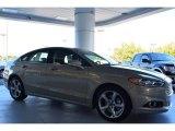 2015 Tectonic Silver Metallic Ford Fusion SE #98218823