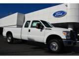 2015 Oxford White Ford F250 Super Duty XL Super Cab 4x4 #98218821