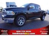 2014 Black Ram 1500 Laramie Crew Cab #98218793