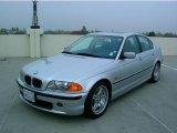2001 Titanium Silver Metallic BMW 3 Series 330i Sedan #969481