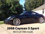 2008 Porsche Cayman S Sport