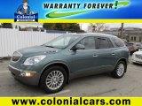 2010 Silver Green Metallic Buick Enclave CXL AWD #98247840