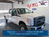 2015 Oxford White Ford F250 Super Duty XL Crew Cab 4x4 #98247492