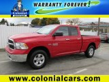 2014 Flame Red Ram 1500 SLT Quad Cab 4x4 #98247838
