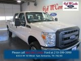 2015 Oxford White Ford F250 Super Duty XL Crew Cab 4x4 #98247489