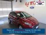 2015 Ruby Red Metallic Ford Fiesta SE Hatchback #98247488