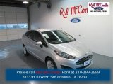 2015 Ingot Silver Metallic Ford Fiesta S Sedan #98247487