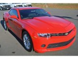 2014 Red Hot Chevrolet Camaro LS Coupe #98247758