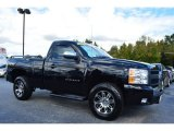 2013 Black Chevrolet Silverado 1500 Work Truck Regular Cab 4x4 #98247537