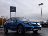 South Seas Blue Metallic Mercedes-Benz GLA in 2015