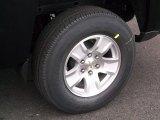 2015 Chevrolet Silverado 1500 LT Crew Cab 4x4 Wheel