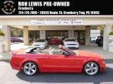 2005 Redfire Metallic Ford Mustang GT Premium Convertible #98287439