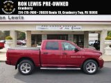 2012 Deep Cherry Red Crystal Pearl Dodge Ram 1500 ST Crew Cab 4x4 #98287438