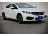 2015 Taffeta White Honda Civic EX Coupe #98325720