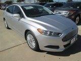 2015 Ingot Silver Metallic Ford Fusion Hybrid SE #98325600