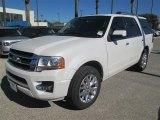 2015 White Platinum Metallic Tri-Coat Ford Expedition Limited #98325597
