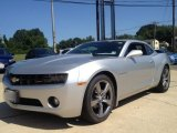2012 Silver Ice Metallic Chevrolet Camaro LT Coupe #98348010