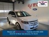2014 White Platinum Ford Edge SEL #98356303
