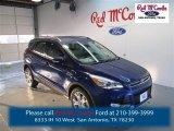 2014 Deep Impact Blue Ford Escape Titanium 1.6L EcoBoost #98356305