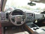 2015 Chevrolet Silverado 1500 LTZ Crew Cab 4x4 Dashboard