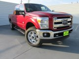 2015 Ruby Red Ford F250 Super Duty King Ranch Crew Cab 4x4 #98356436
