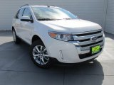 2014 White Platinum Ford Edge Limited #98356428