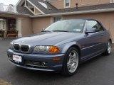 2001 Steel Blue Metallic BMW 3 Series 330i Convertible #9832033
