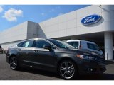 2015 Magnetic Metallic Ford Fusion Titanium #98384512