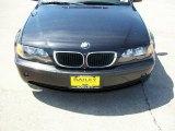 2005 Jet Black BMW 3 Series 325i Sedan #9827269