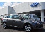2014 Sterling Gray Ford Focus SE Sedan #98384509